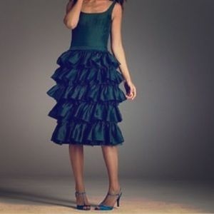 NWT J. Crew Fontaine tiered tulle dress size 0